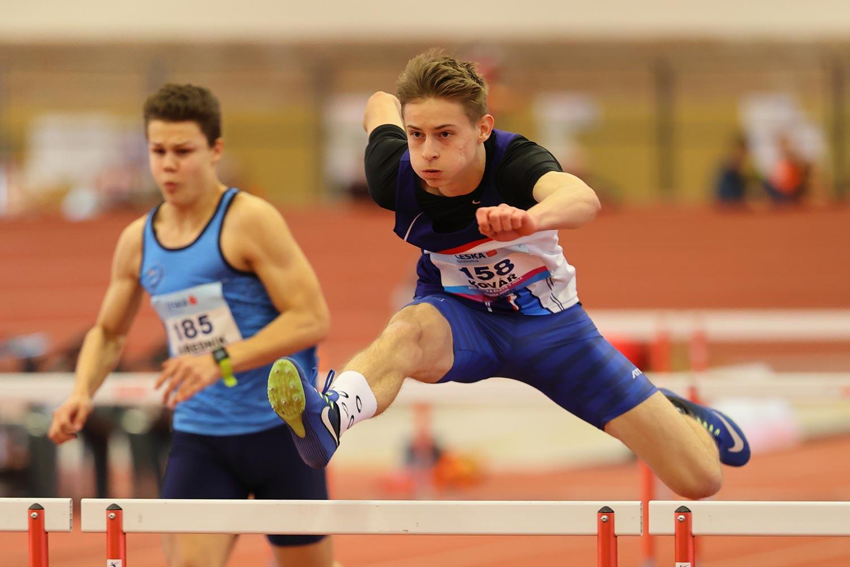 CZ Championship Indoor Praha U16 Saturday 03