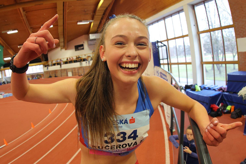 CZ Championship Indoor Praha U16 Saturday 11