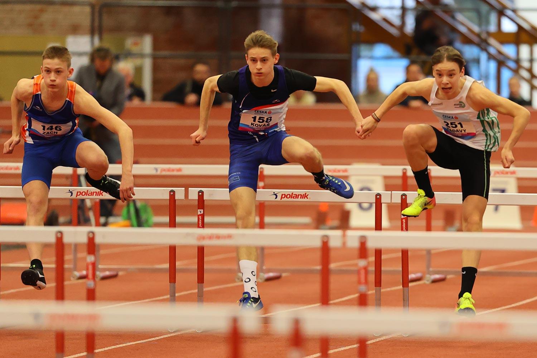 CZ Championship Indoor Praha U16 Saturday 16
