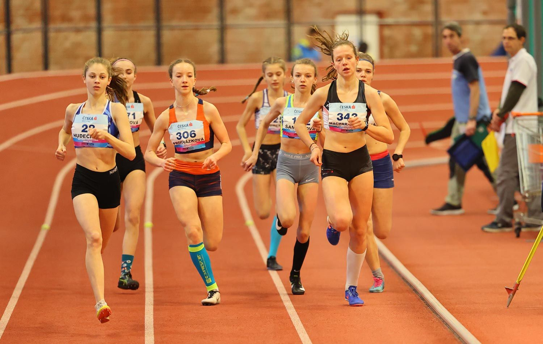 CZ Championship Indoor Praha U16 Saturday 23