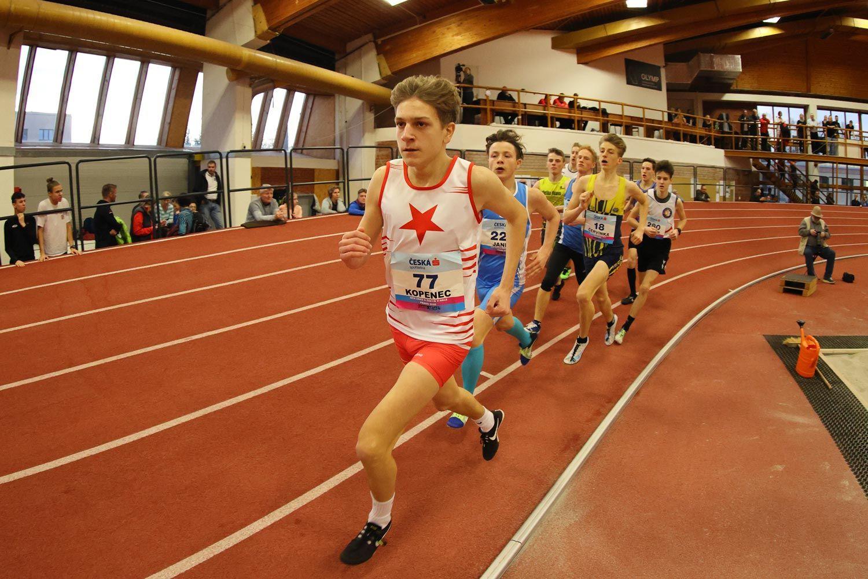 CZ Championship Indoor Praha U16 Saturday 30