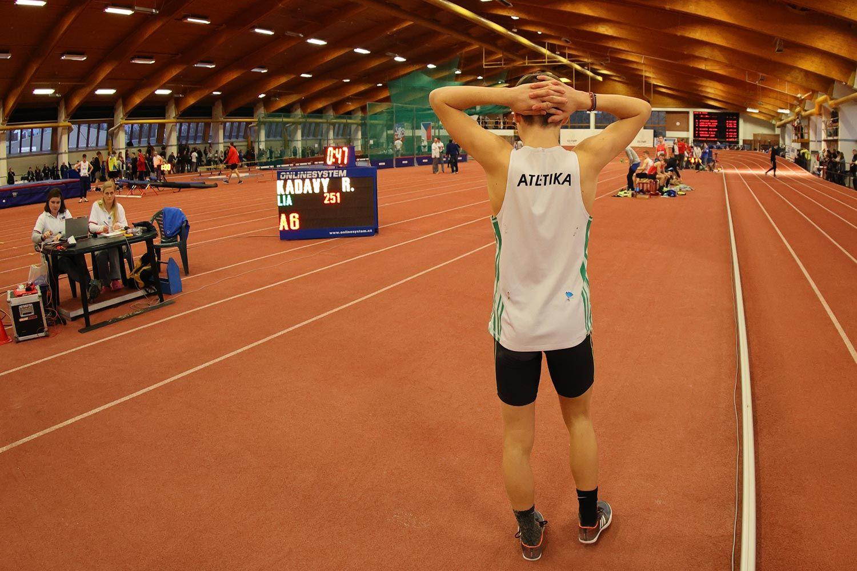 CZ Championship Indoor Praha U16 Saturday 31
