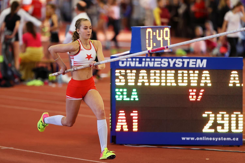 CZ Championship Indoor Praha U16 Sunday 15