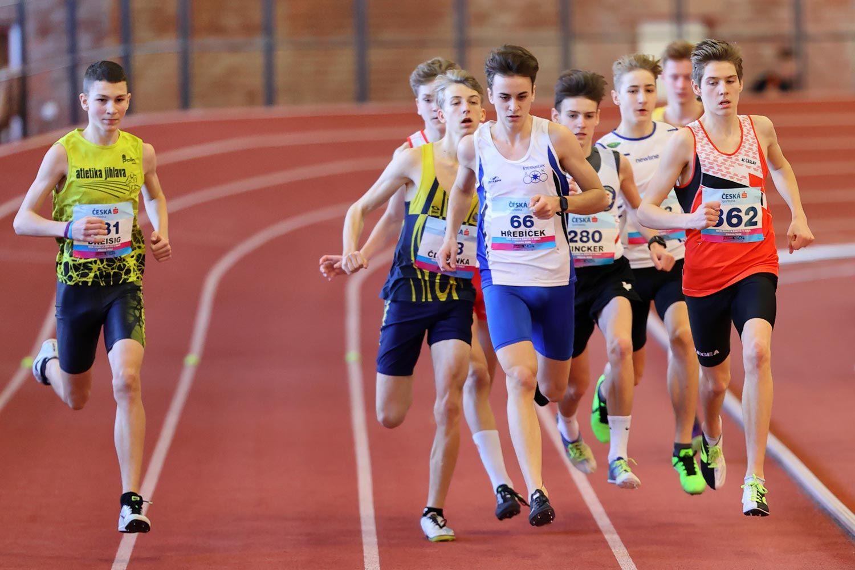CZ Championship Indoor Praha U16 Sunday 16