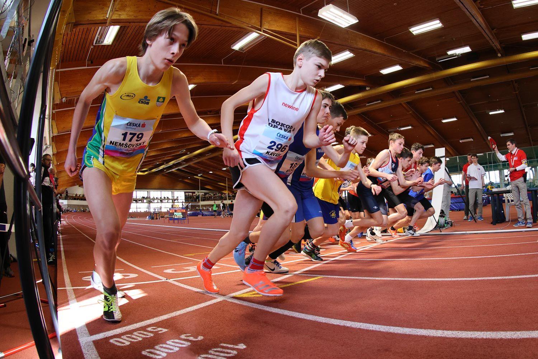 CZ Championship Indoor Praha U16 Sunday 29