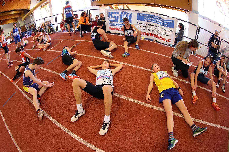 CZ Championship Indoor Praha U16 Sunday 31