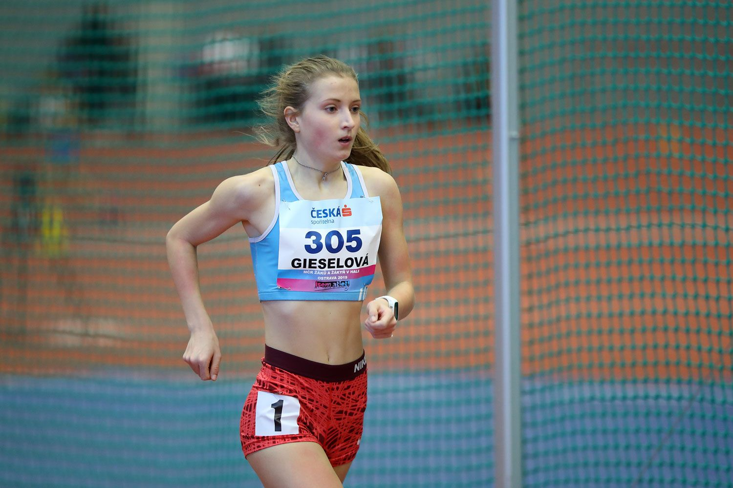 Ostrava Indoor CZ Championship U16 Saturday 06