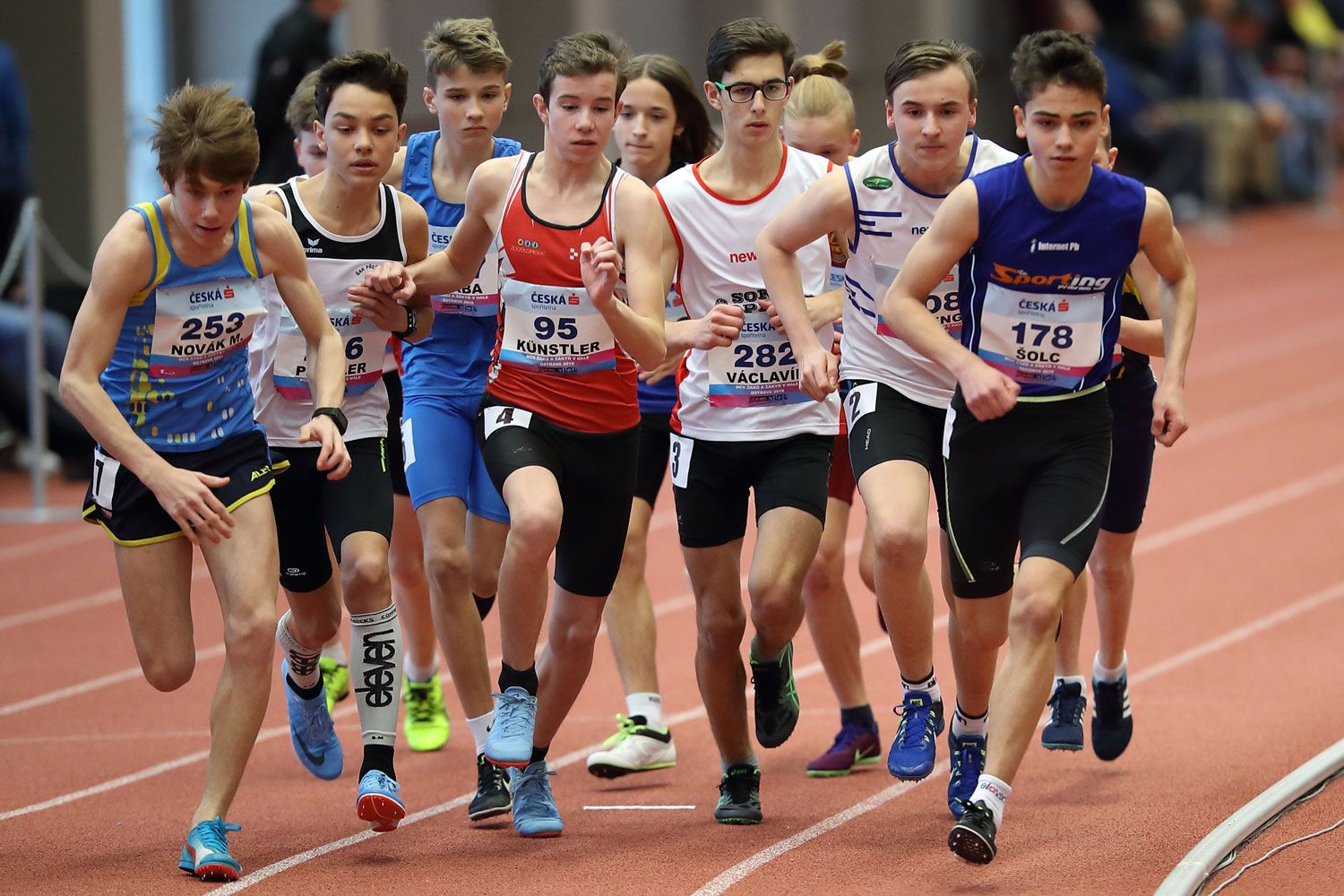 Ostrava Indoor CZ Championship U16 Saturday 11