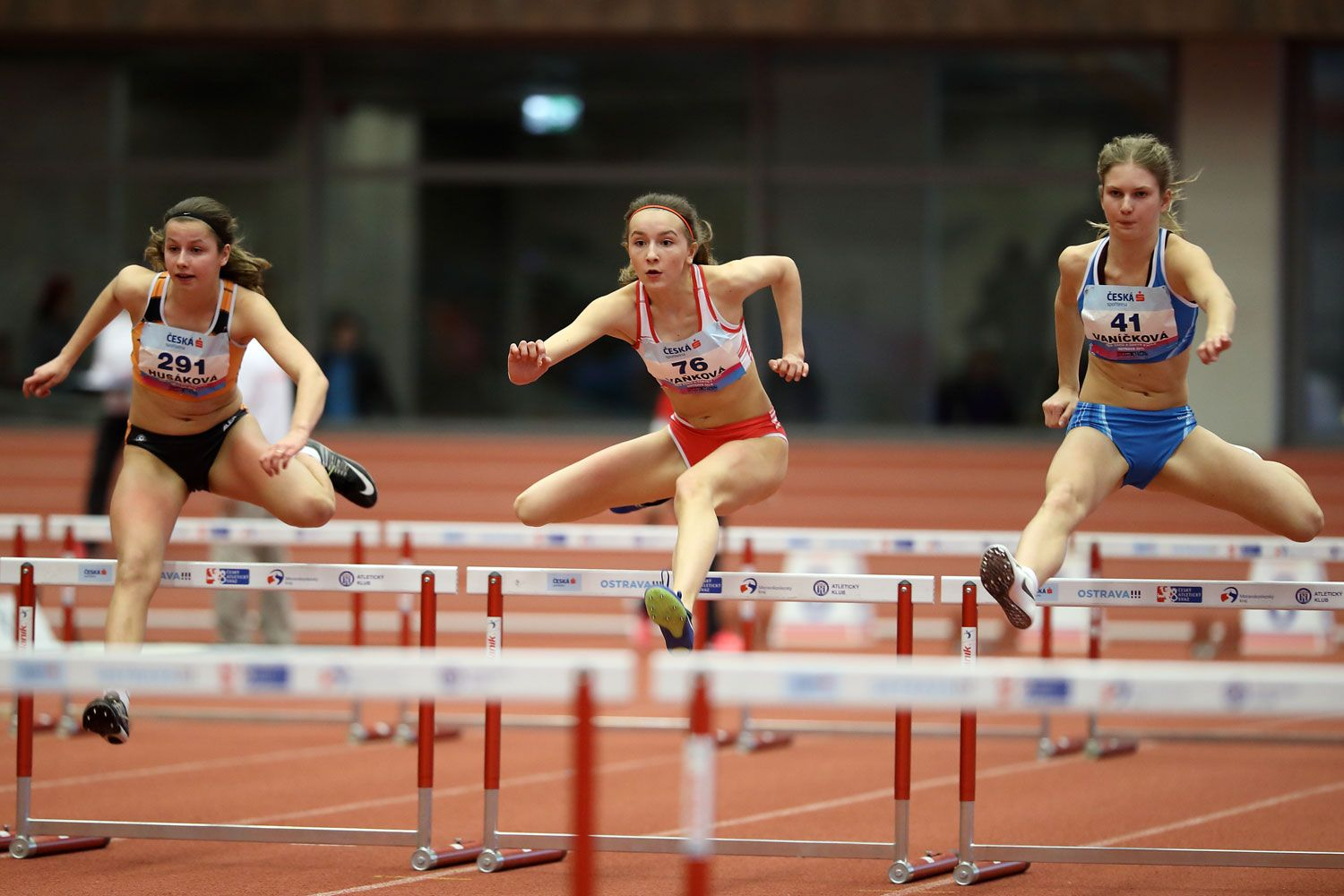 Ostrava Indoor CZ Championship U16 Saturday 15