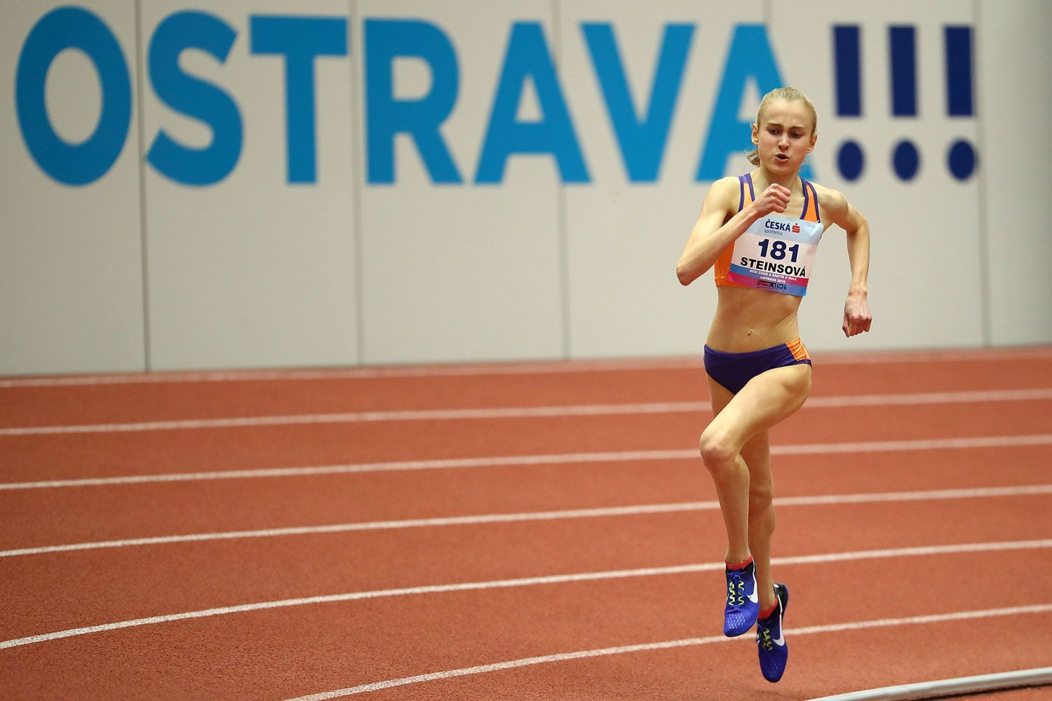 Ostrava Indoor CZ Championship U16 Saturday 25