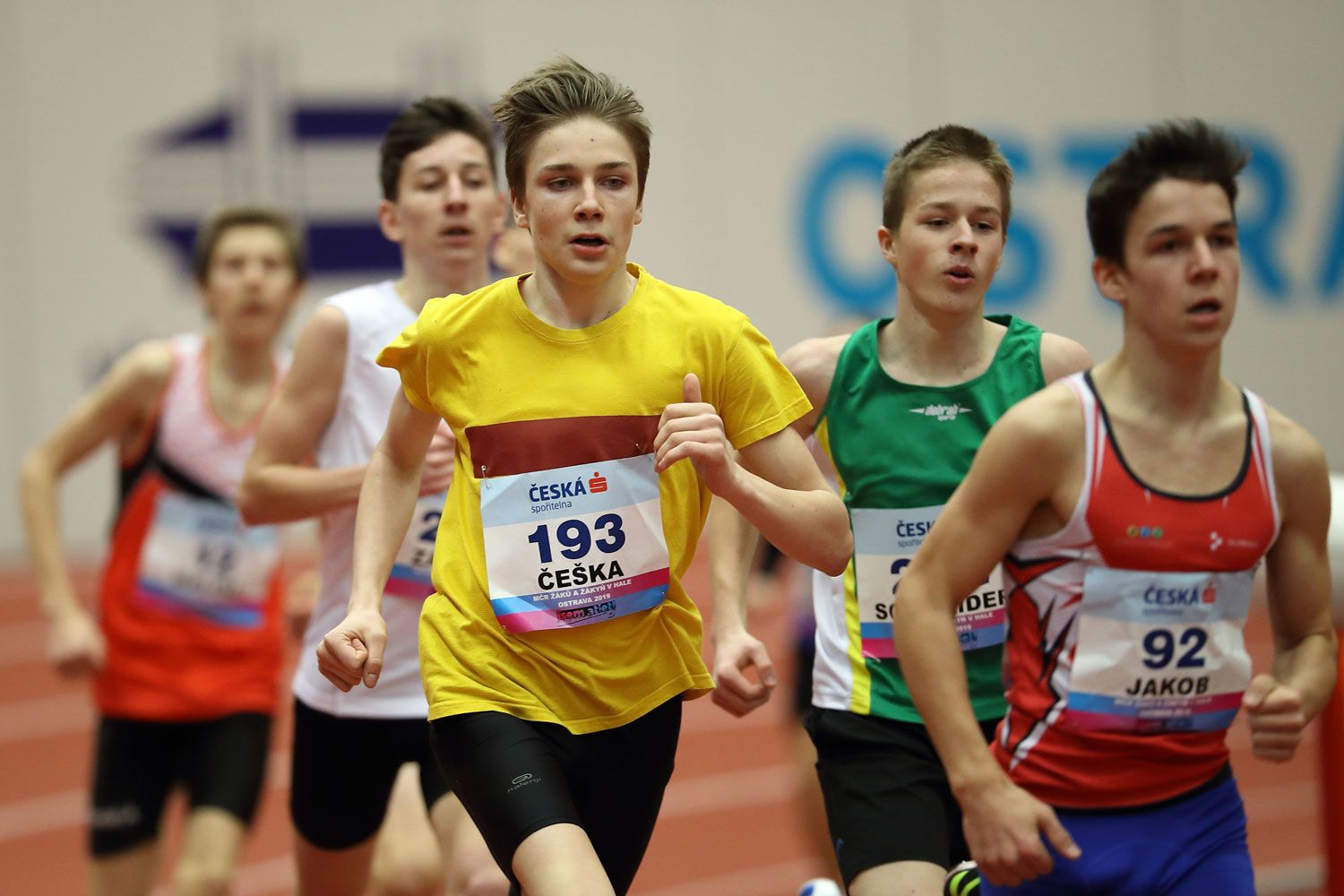 Ostrava Indoor CZ Championship U16 Saturday 29