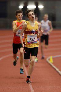 Ostrava Indoor CZ Championship U16 Sunday 18