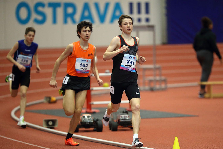 Ostrava Indoor CZ Championship U16 Sunday 33