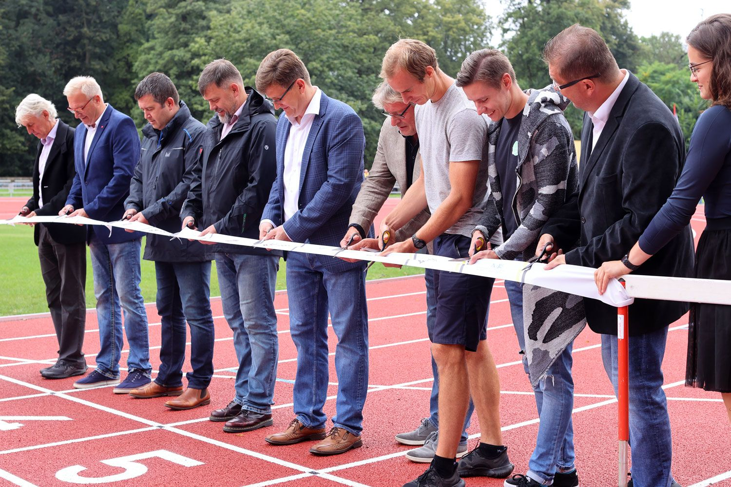 The Opening of Houstka Stadium 06