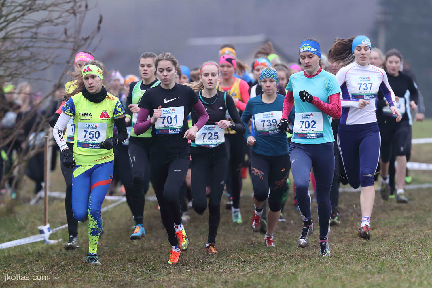 2017_11_25 CZ Championship Cross Country Dlouhonovice